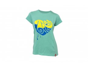KELLYS Tričko WOMEN´S TRUE LOVE krátký rukáv Turquoise