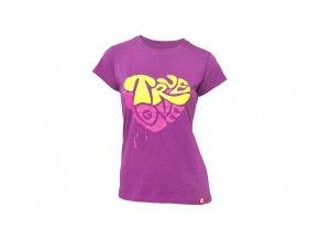 KELLYS Tričko WOMEN´S TRUE LOVE krátký rukáv Purple