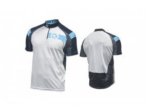 KELLYS Dres PRO Sport krátký rukáv blue - (016)