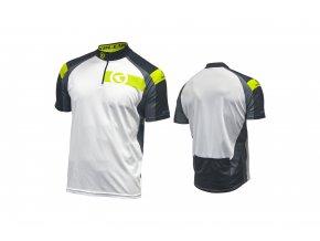 KELLYS Dres PRO Sport krátký rukáv lime - (016)
