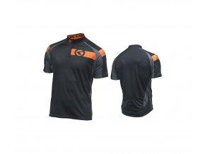 KELLYS Dres PRO Sport krátký rukáv orange - (016)