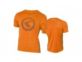 KELLYS Tričko ACTIVE krátky rukáv orange