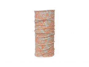 KELLYS Multifunkční šátek PAISLEY orange