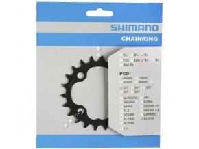 převodník 22z Shimano XT FC-M4050 3x9 4 díry