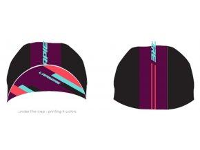 LAPIERRE oblečení Women's Purple Road Cap 2019