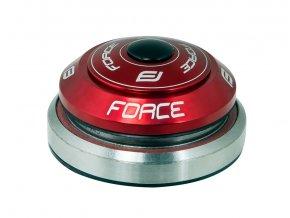 """řízení FORCE TAPER 1 1/8""""-1 1/2"""" integrov.červené"""