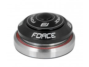"""řízení FORCE TAPER 1 1/8""""-1 1/2"""" integrov.černé"""