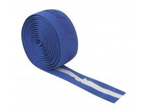 omotávka FORCE korková s vytláčeným logem, modrá