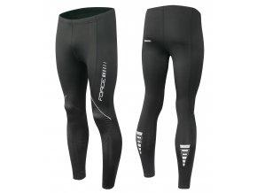 kalhoty FORCE Z68 do pasu bez vložky, černé