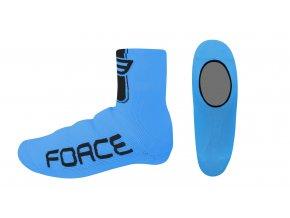 návleky treter FORCE pletené, modré