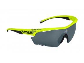brýle FORCE AEON, fluo, černá skla