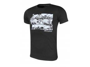 triko FORCE COOL COMICS krátký rukáv,černé