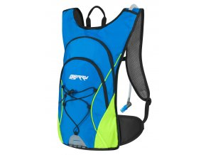 batoh FORCE BERRY ACE PLUS 12L+2L rez., modro-fluo
