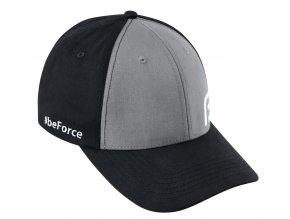 kšiltovka FORCE BEFORCE, černo-šedá