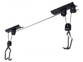 držák kola FORCE LIFTY na strop,černý