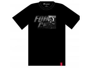 triko FORCE SPIRIT krátký rukáv,černé