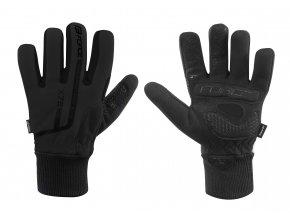 rukavice zimní FORCE KID X72, černé