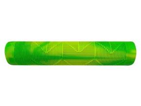 madla FORCE BMX145 gumová, zeleno-žlutá, balená