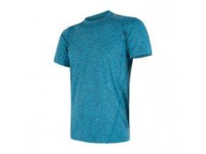 triko krátké pánské SENSOR MOTION modré
