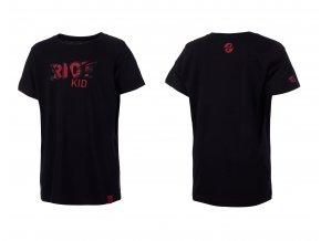 GHOST oblečenie Tričko KID Boy black/red 2016