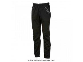 kalhoty dlouhé pánské Progress FROSTY softshell černé