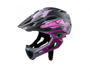 CRATONI C-MANIAC Pro - black-pink-purple matt 2020