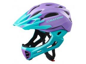 CRATONI C-MANIAC - purple-turquoise matt 2020