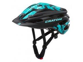 CRATONI PACER - black-turquoise matt 2020