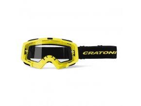 CRATONI sluneční brýle Brýle Cratoni C-Dirttrack neonově žlutá matná 2020