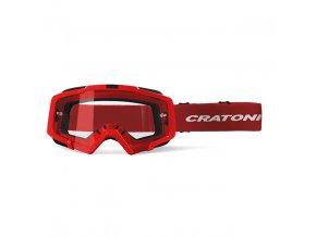 CRATONI sluneční brýle Brýle Cratoni C-Dirttrack red matt 2020