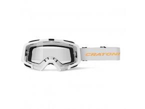 CRATONI sluneční brýle Brýle Cratoni C-Dirttrack bílá-neonově oranžová matná 2020
