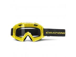 CRATONI sluneční brýle Brýle Craotni C-Rage neonově žlutá lesklá 2020