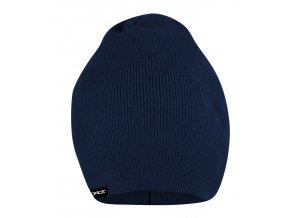 čepice jaro/podzim FORCE PIXIE pletená, modrá