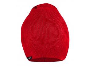 čepice jaro/podzim FORCE PIXIE pletená, červená