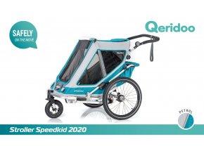 QERIDOO Speedkid2 - Petrol 2020
