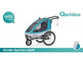 QERIDOO Sportrex2 - Petrol Blue 2020