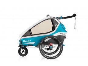 fahrradanhaenger kindersportwagen kinderfahrradanhaenger 13100 kidgoo1 2020 petrol 1