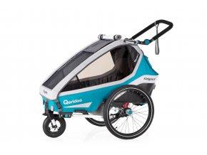 QERIDOO Kidgoo1 - Petrol Blue 2020