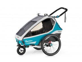 QERIDOO Kidgoo2 - Petrol Blue 2020