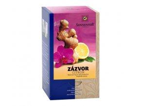 Čaj zázvor-citron Sonnentor 30g