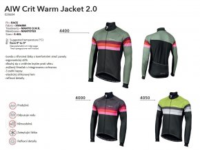 NALINI Bunda AIW Crit Warm Jacket 2.0 - Green 2019