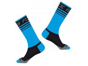 ponožky FORCE STAGE, modro-černé