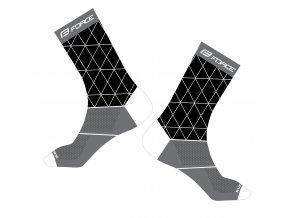 ponožky FORCE EVOKE, černo-šedé