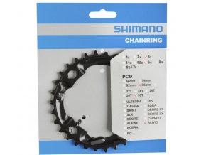 převodník 30z Shimano FC-M4000 3x9 4 díry