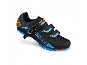 EXUSTAR SM308AB Tretry MTB black/blue/orange
