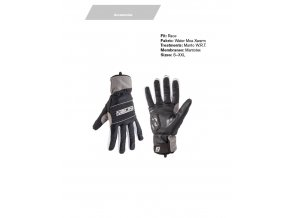 NALINI Rukavice Red Thermo Gloves