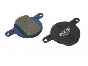 Brzdové destičky KLS D-12, organické (pár)