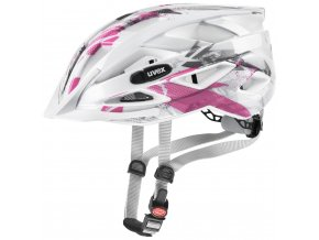 20 UVEX HELMA AIR WING, WHITE PINK (52-57)