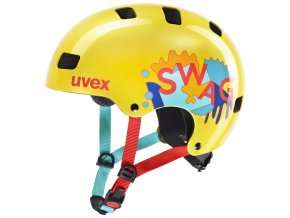 20 UVEX HELMA KID 3, YELLOW