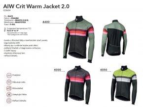 NALINI Bunda AIW Crit Warm Jacket 2.0 - Grey 2019
